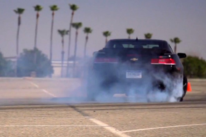 2014 Chevrolet Camaro Z28 Drifting Video 660x438