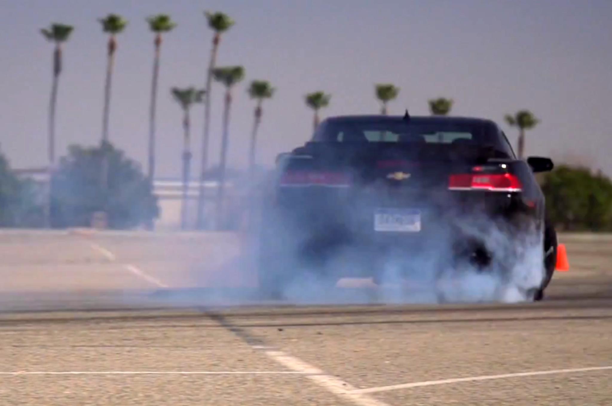 2014 Chevrolet Camaro Z28 Drifting Video