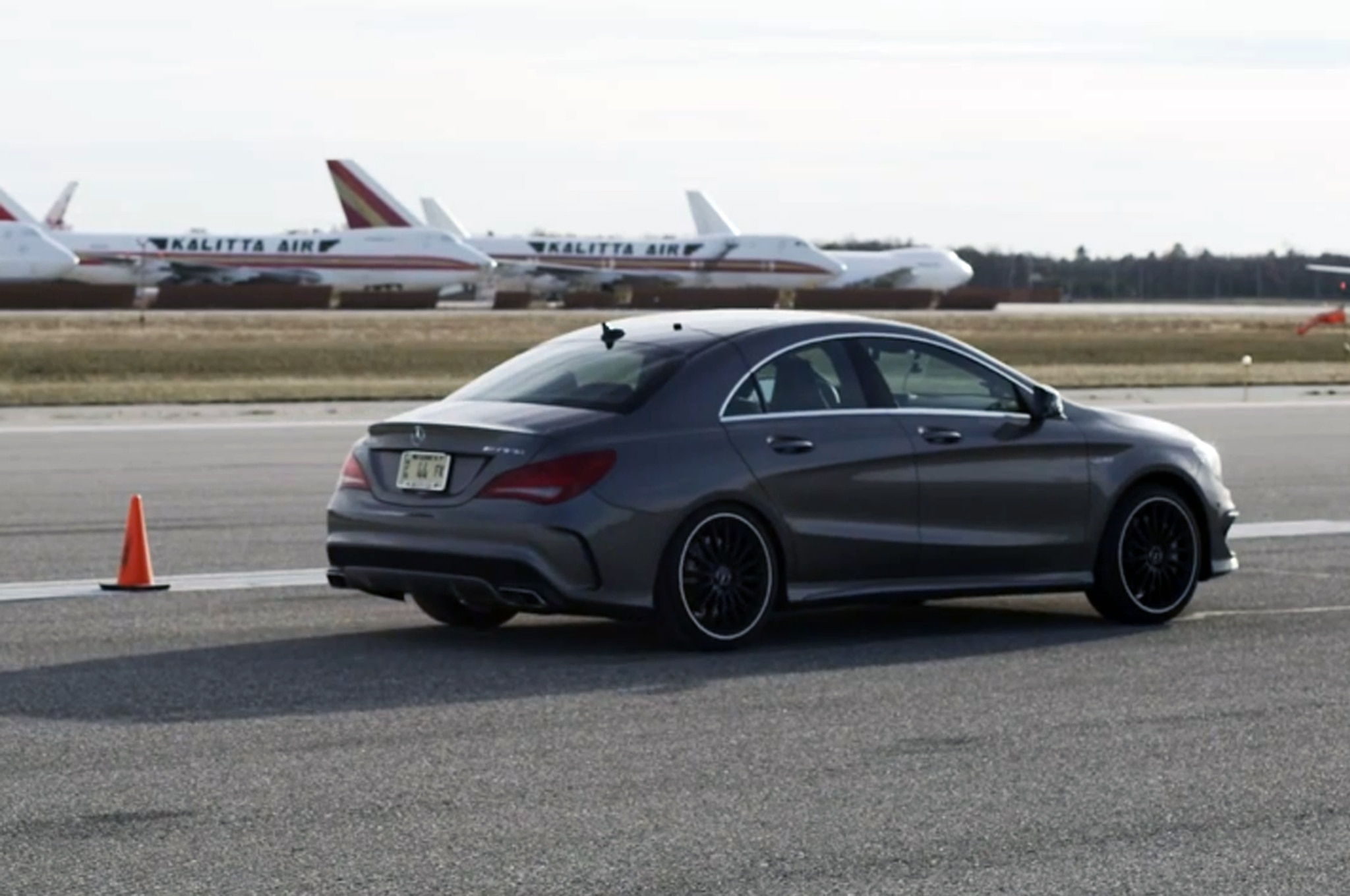 2014 Mercedes Benz Cla45 Amg Runs The Standing Mile