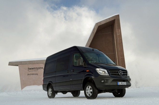 2014 Mercedes Benz Sprinter 4x4 Right Side Angle1 660x438