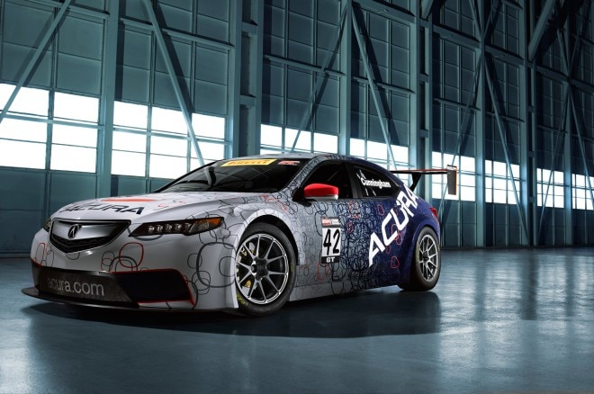 2015 Acura TLX GT Race Car Front Three Quarter1 660x438
