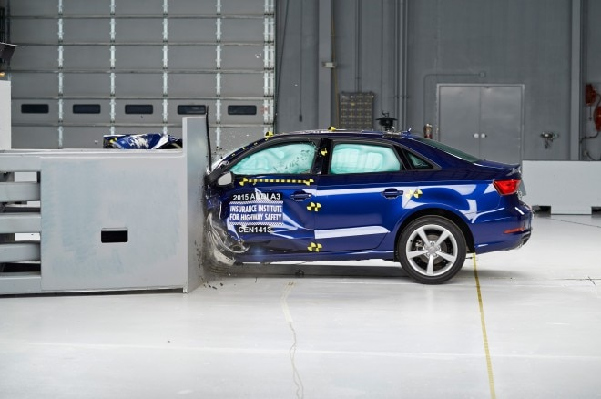 2015 Audi A3 IIHS Side View Crash1 660x438