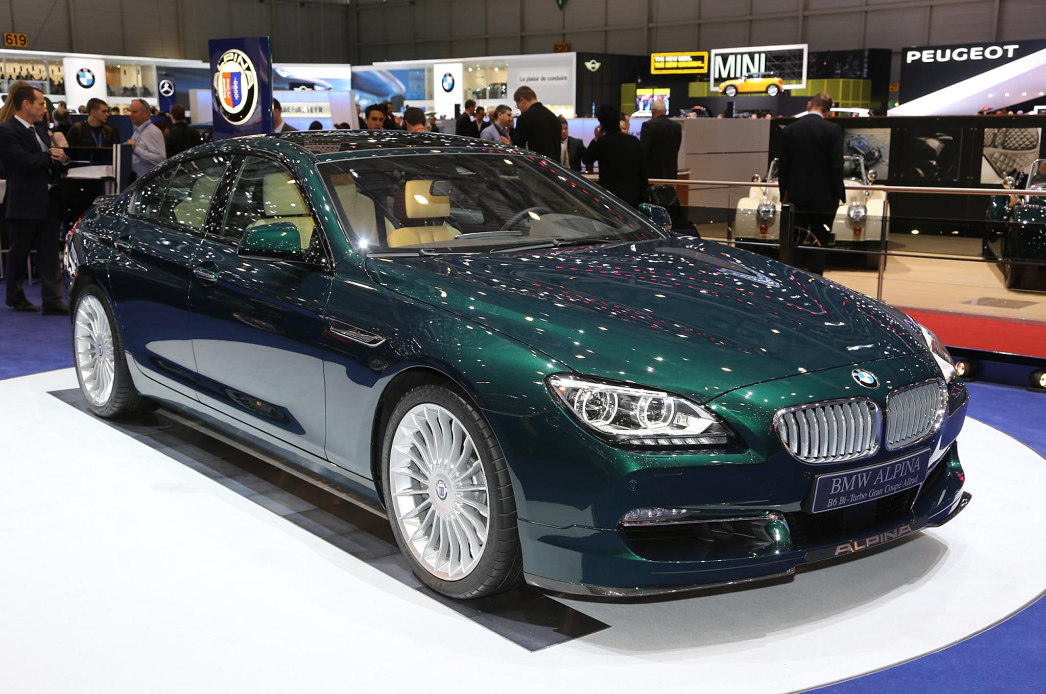 2015 BMW Alpina B6 xDrive Gran Coupe Revealed - Automobile ...