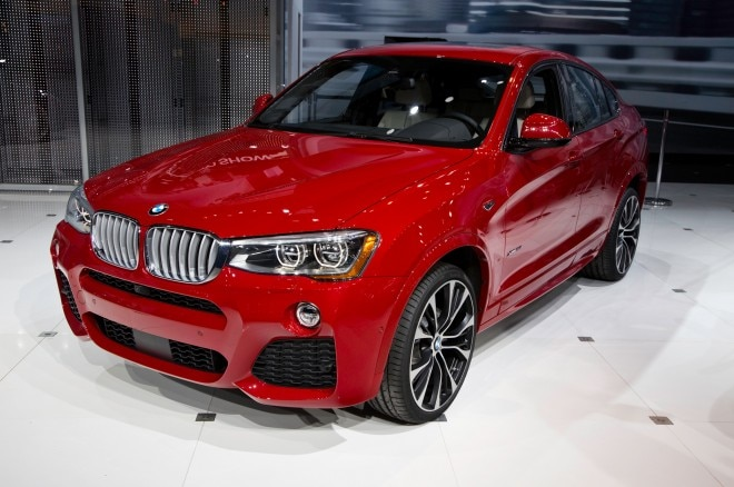 2015 BMW X4 Front Three Quarters1 660x438