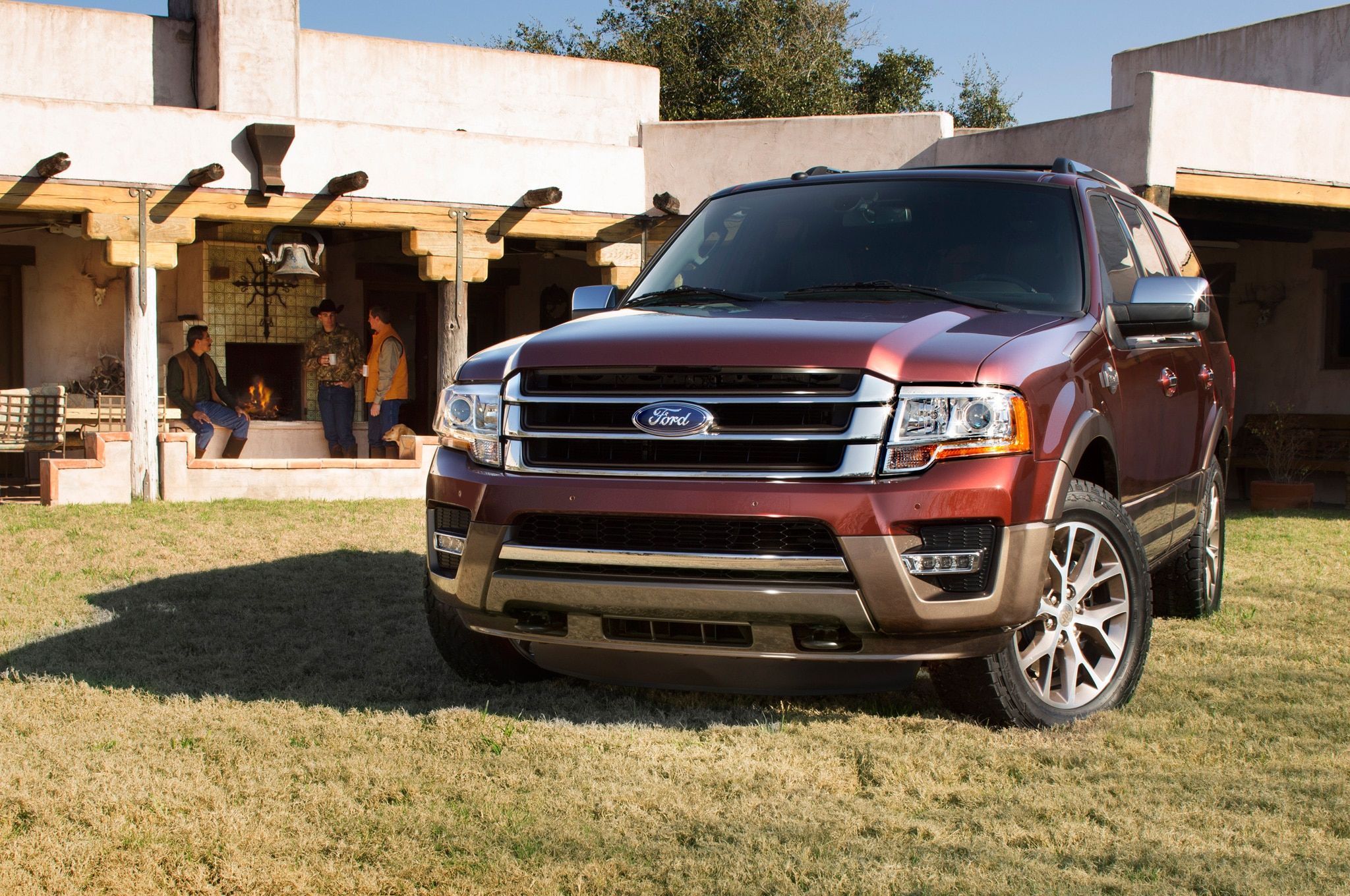 2015 ford expedition king ranch front view