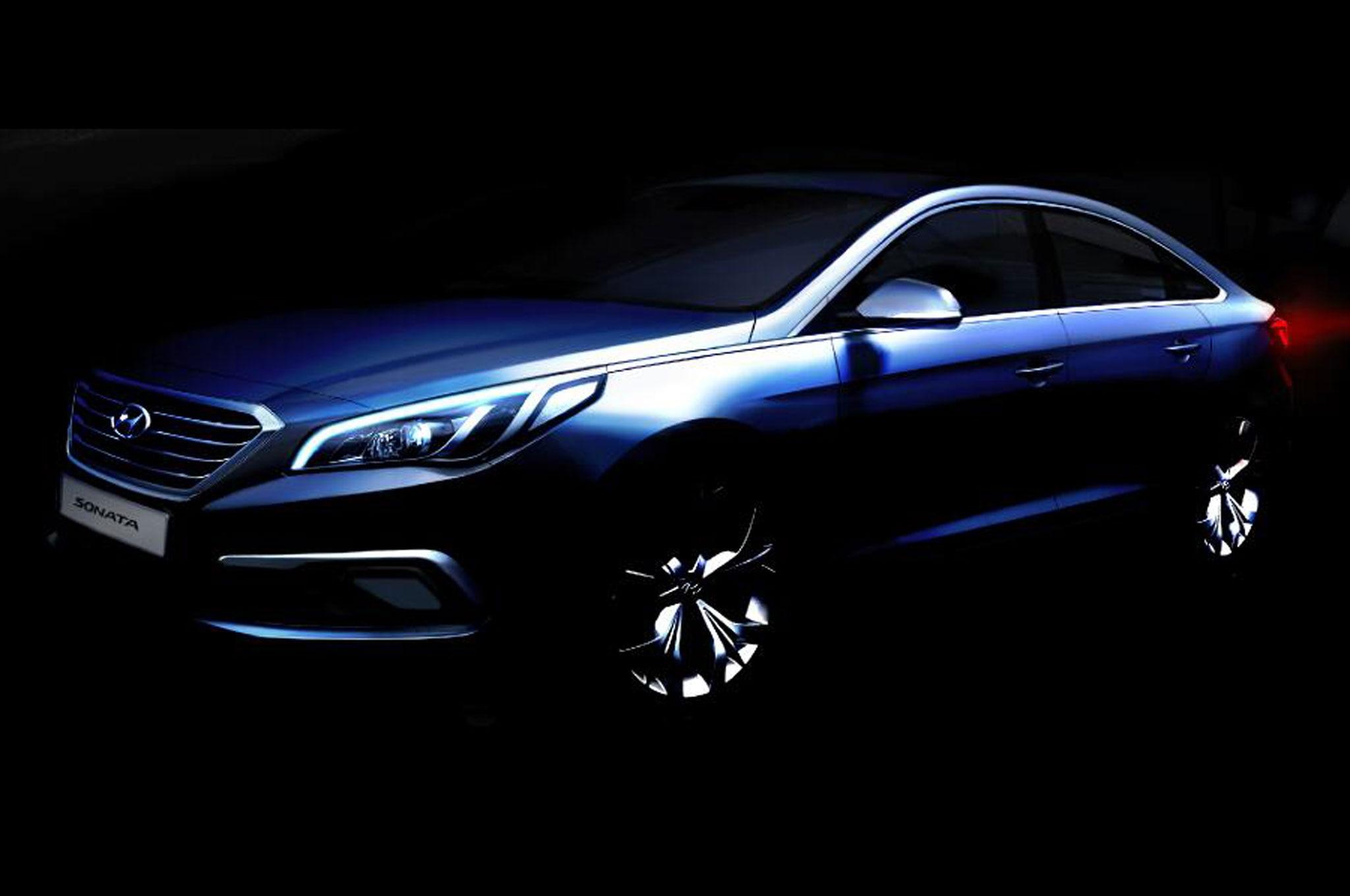 2015 Hyundai Sonata Rendering Front Three Quarters