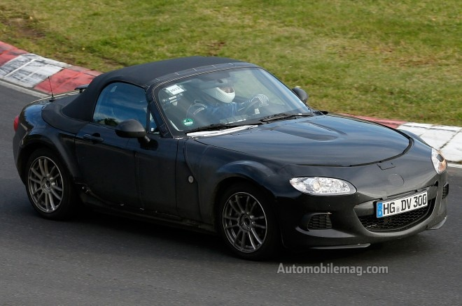2015 Mazda MX 5 Miata Prototype Front Three Quarters View1 660x438