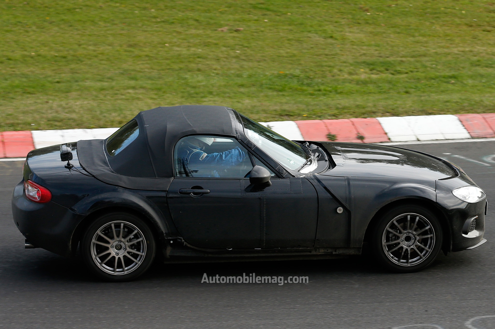 2015 Mazda MX 5 Miata Prototype Side View1