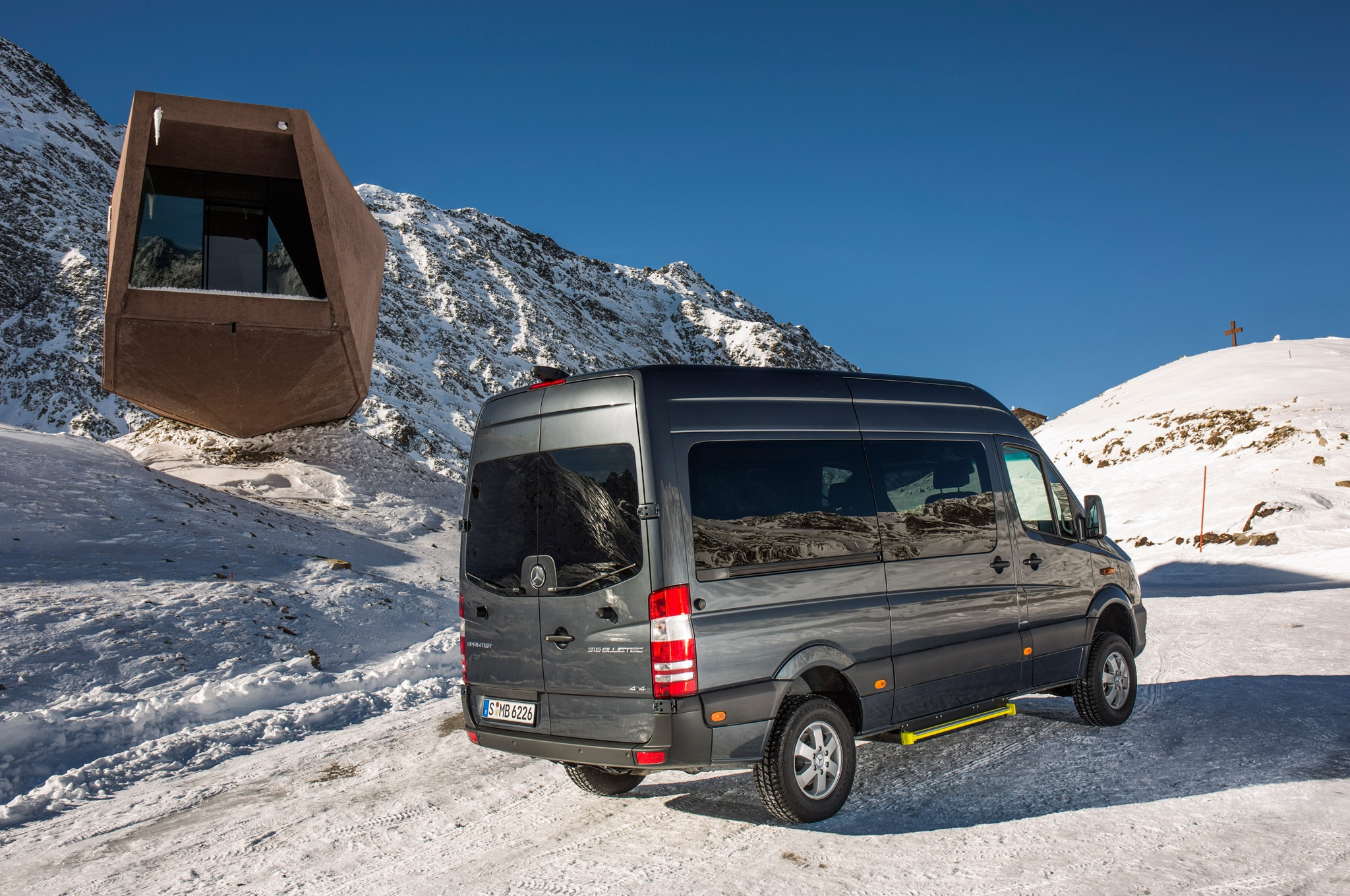 2015 mercedes benz sprinter 4x4 confirmed for u s market for Mercedes benz sprinter 2014