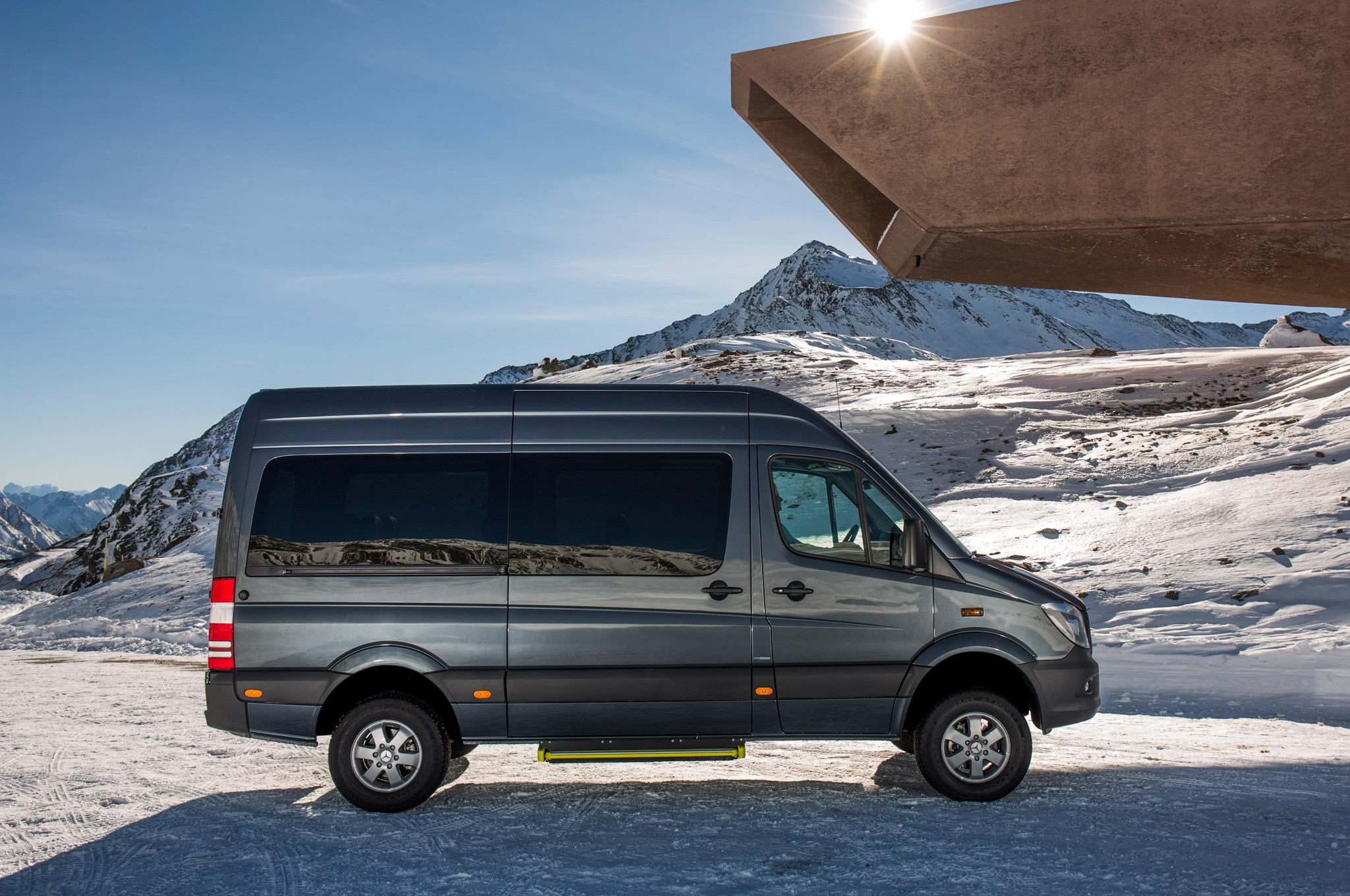 2015 mercedes benz sprinter 4x4 confirmed for u s market. Black Bedroom Furniture Sets. Home Design Ideas