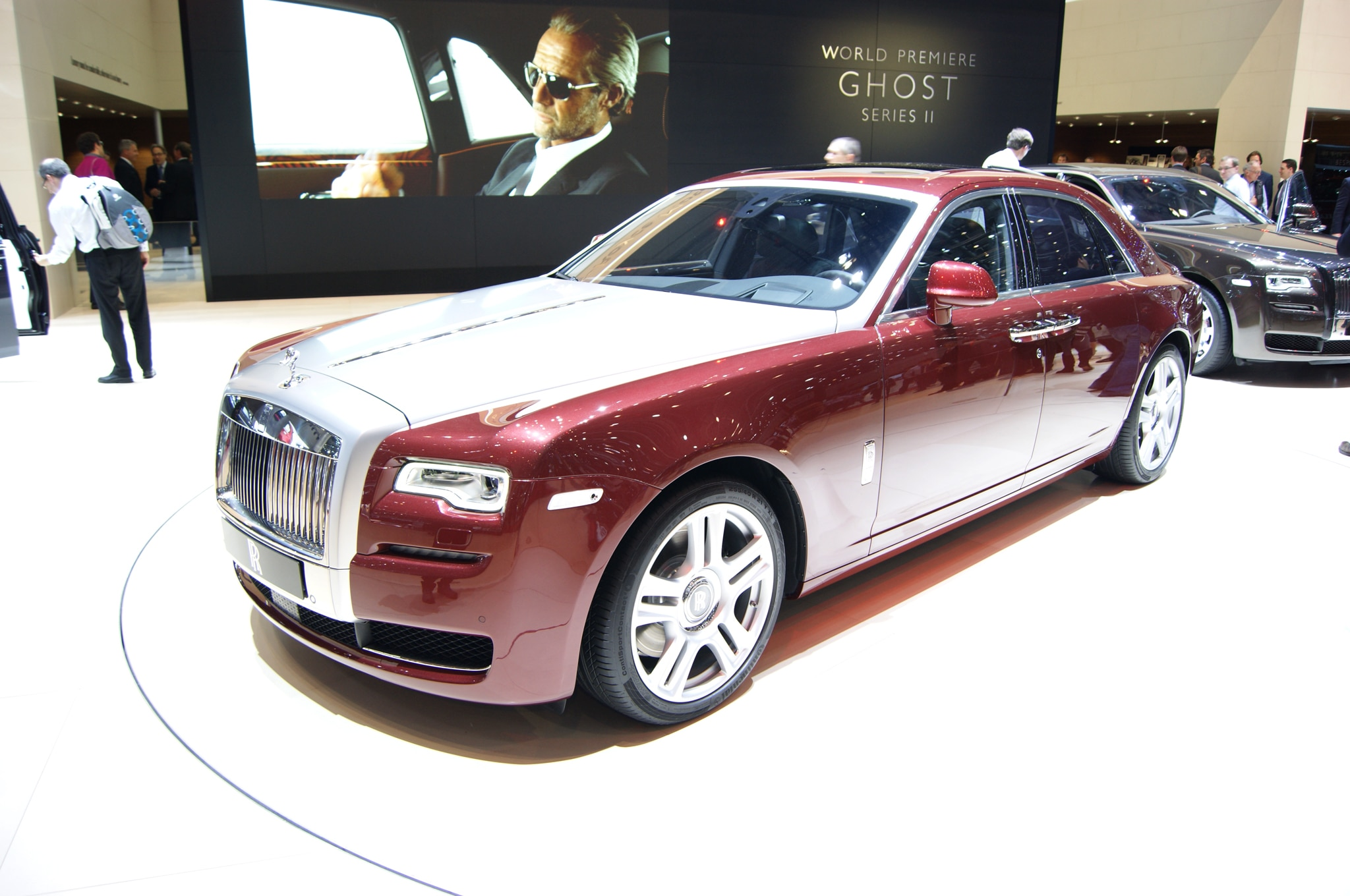 2015 rolls royce ghost series ii bows in geneva automobile magazine. Black Bedroom Furniture Sets. Home Design Ideas
