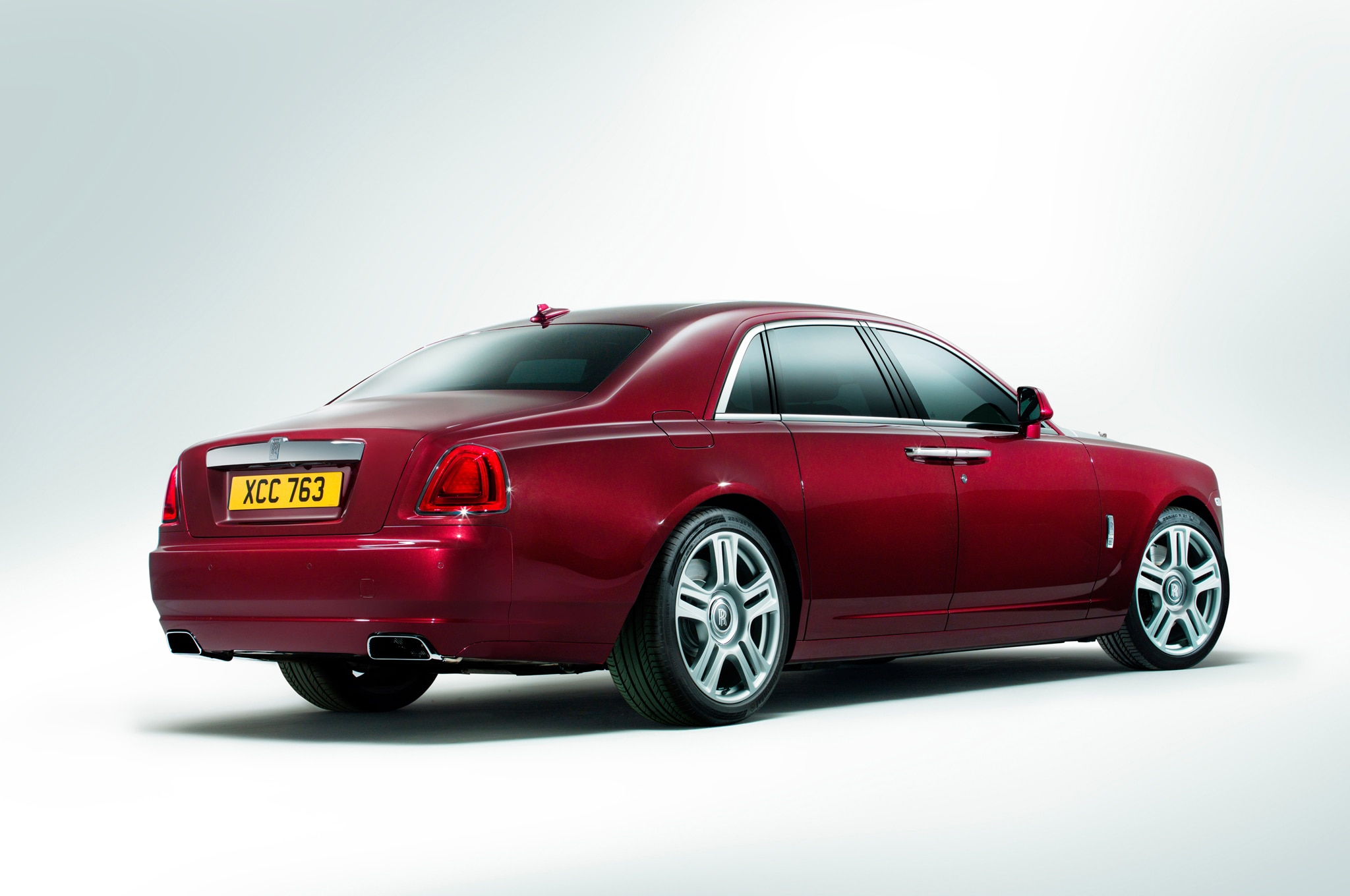 The biggest change to the look of the rolls royce ghost series ii