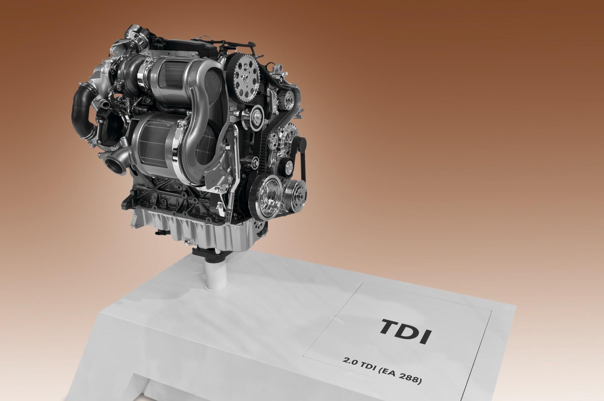2015 Volkswagen Golf TDI EA288 Diesel Engine