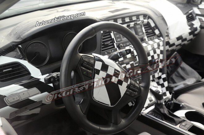 2015 Hyundai Sonata Spied Interior 11 660x438
