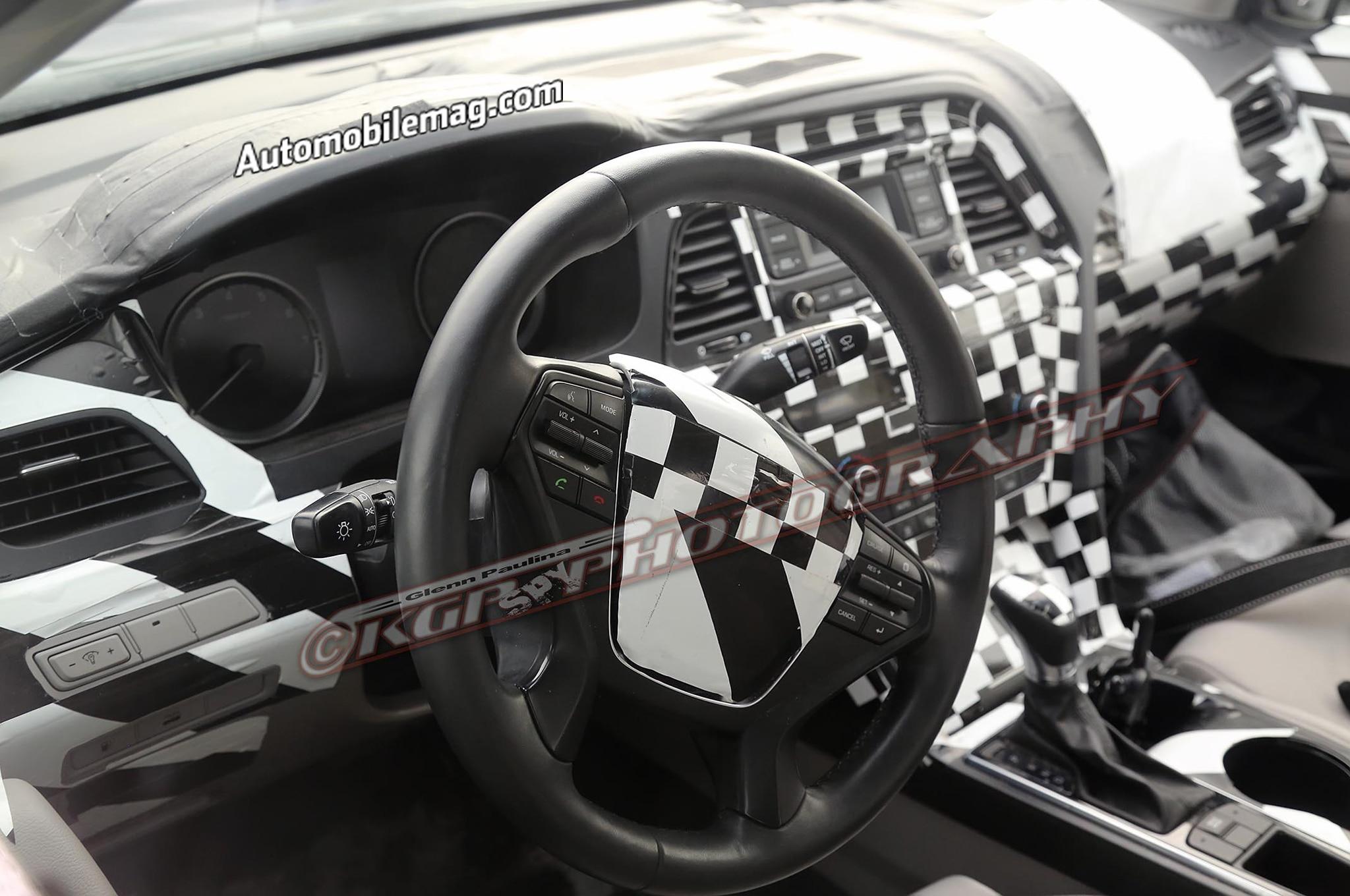 2015 Hyundai Sonata Spied Interior 11