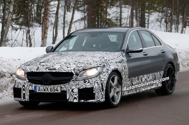 2015 Mercedes Benz C63 Amg Spied Front Three Quarter 21 660x438