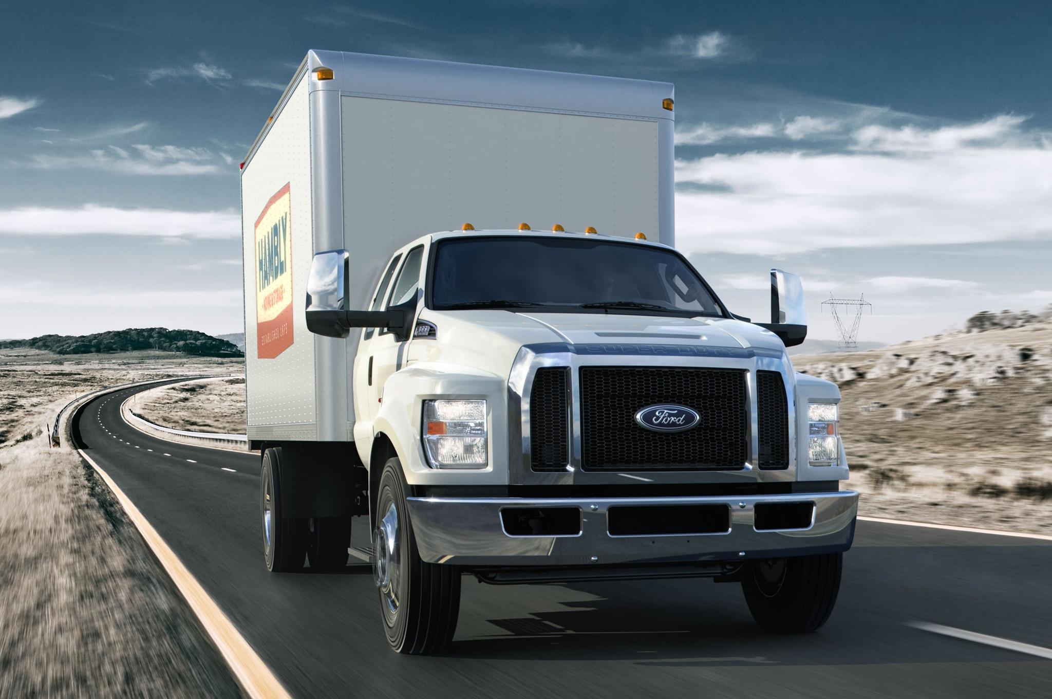 2016 ford f 650 f 750 medium duty trucks revealed automobile magazine. Black Bedroom Furniture Sets. Home Design Ideas