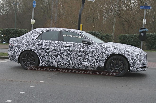 2016 Jaguar Xs Prototype Spied Profile 061 660x438
