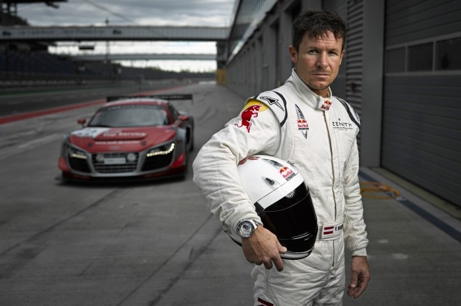 Audi R8 LMS Ultra With Felix Baumgartner1 660x438