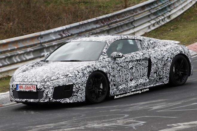 Audi R8 Spied 3 Front Three Quarters1 660x438