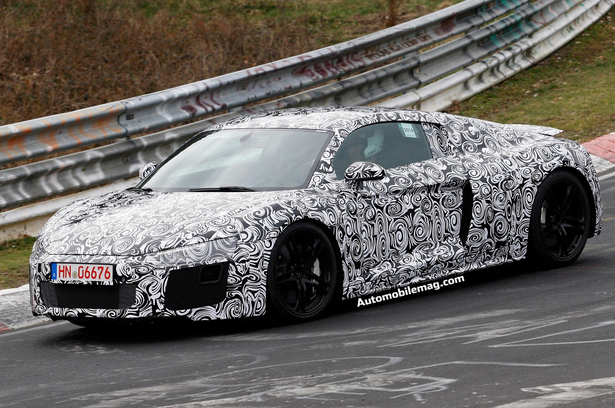 Audi R8 Spied 3 Front Three Quarters1