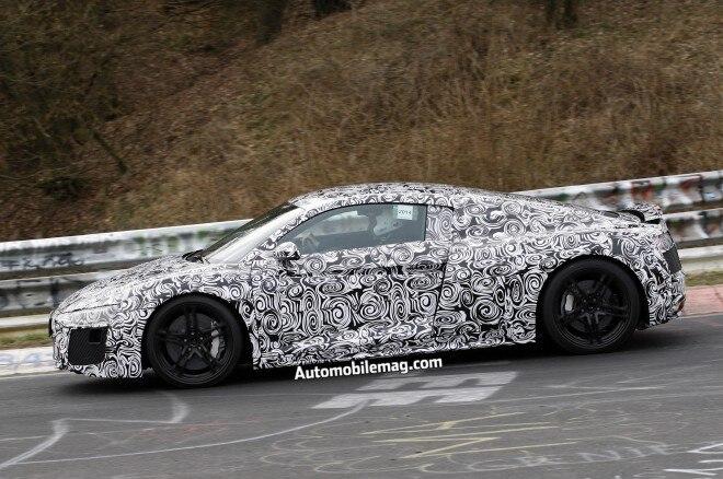 Audi R8 Spied 4 Profile1 660x438
