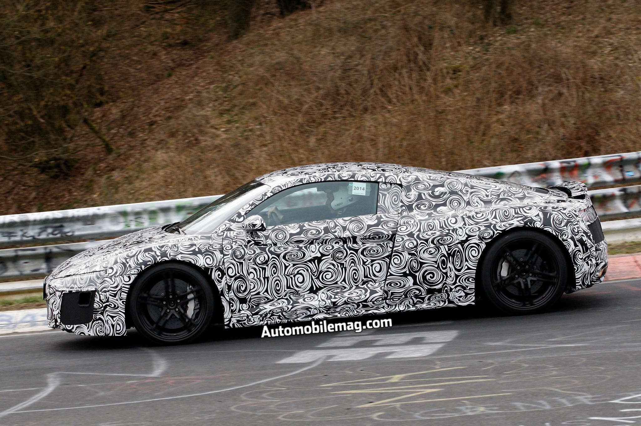 Audi R8 Spied 4 Profile1