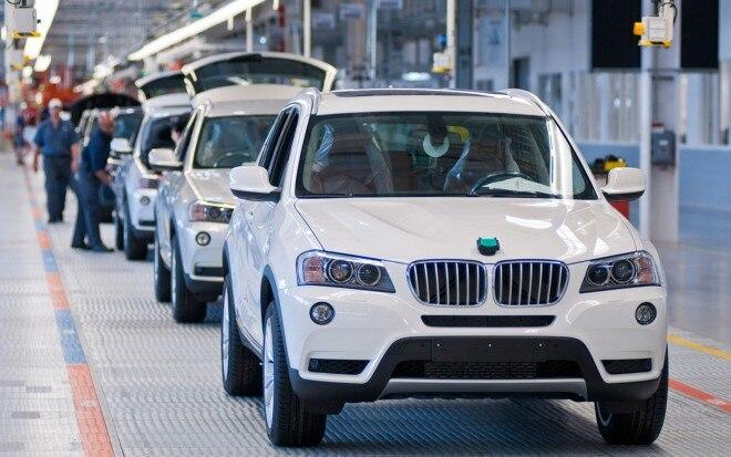 BMW Spartanburg South Carolina Assembly Plant X3 Line1 660x413
