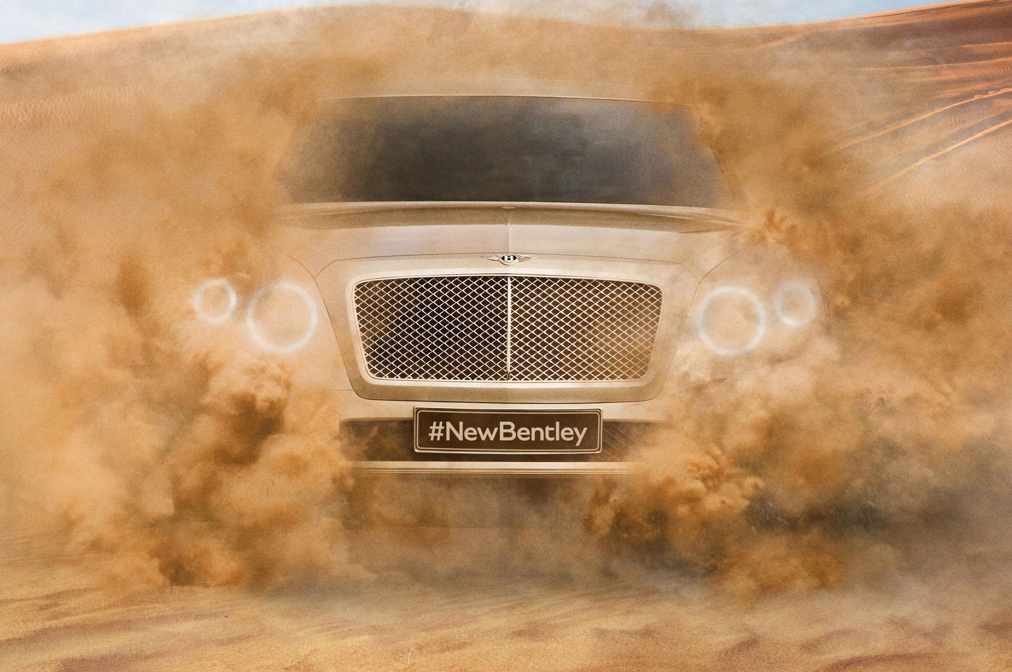 Bentley SUV Teaser Closer View