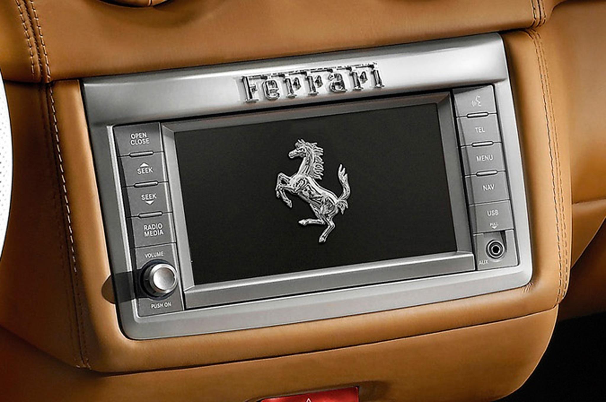 Chrysler Uconnect Radio In Ferrari California