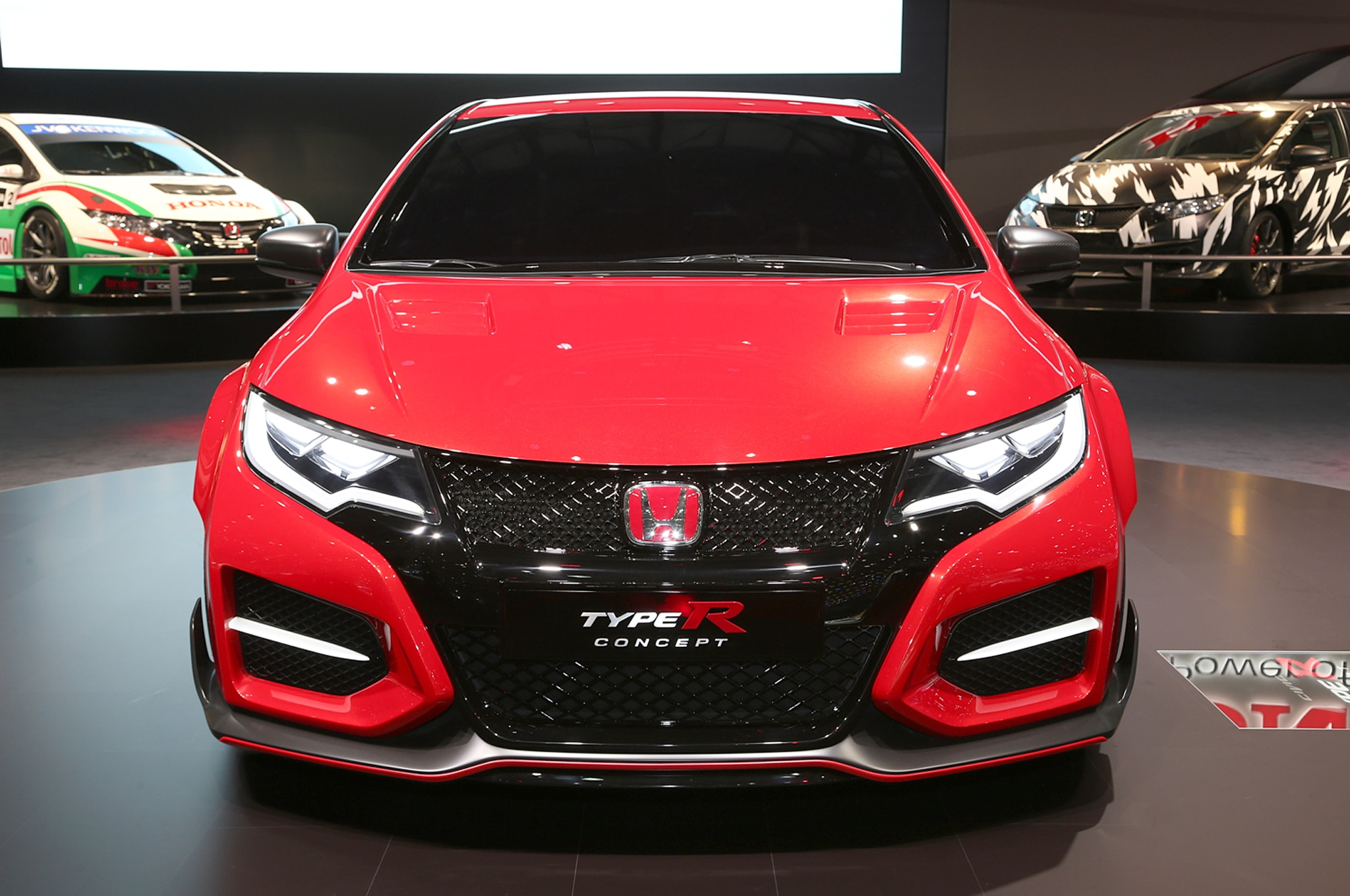 honda civic type r concept debuts in geneva - automobile magazine
