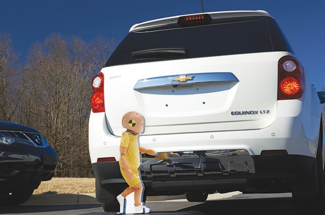 IIHS Backup Camera Test With Child Dummy 660x438