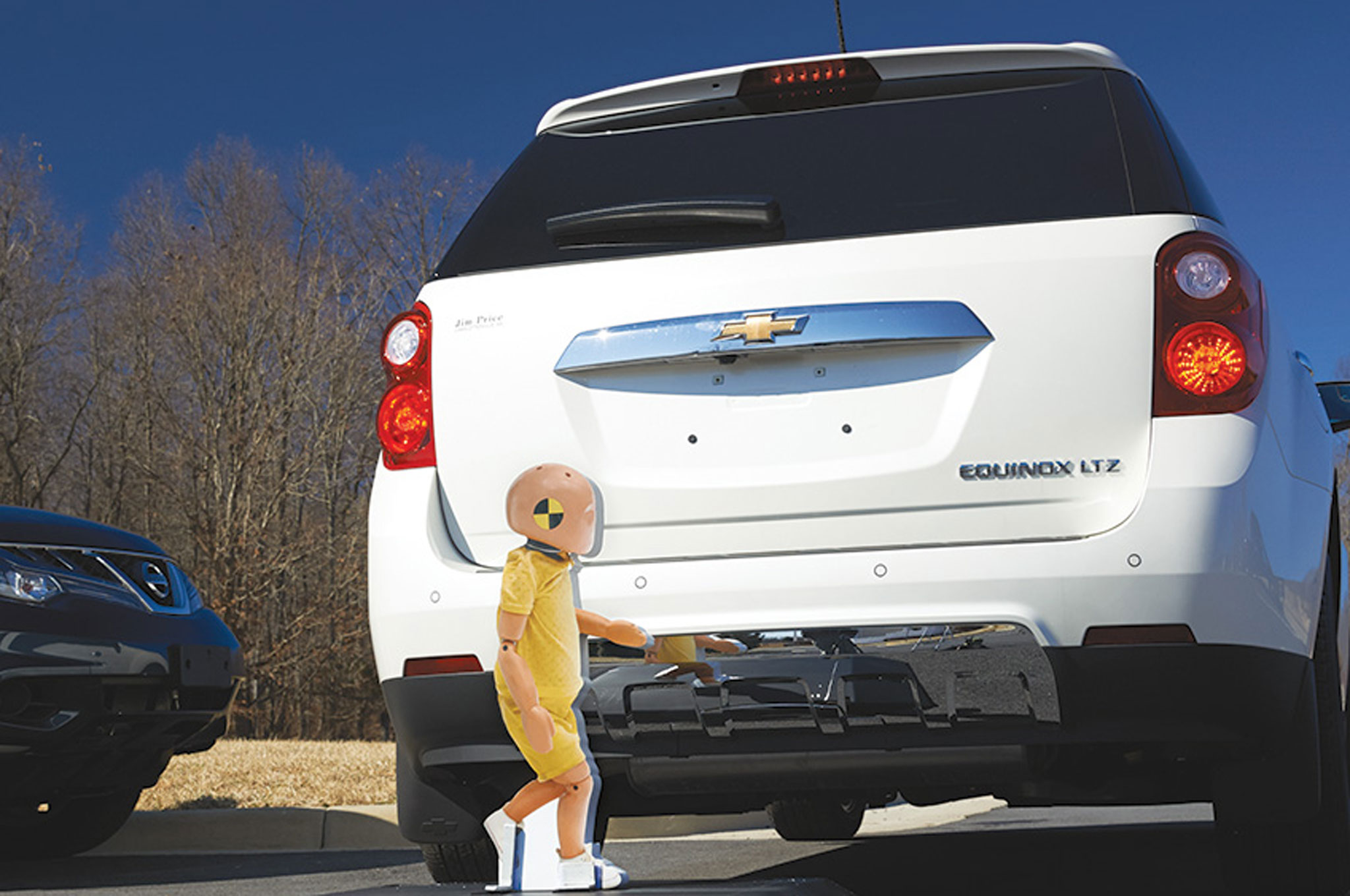 IIHS Backup Camera Test With Child Dummy