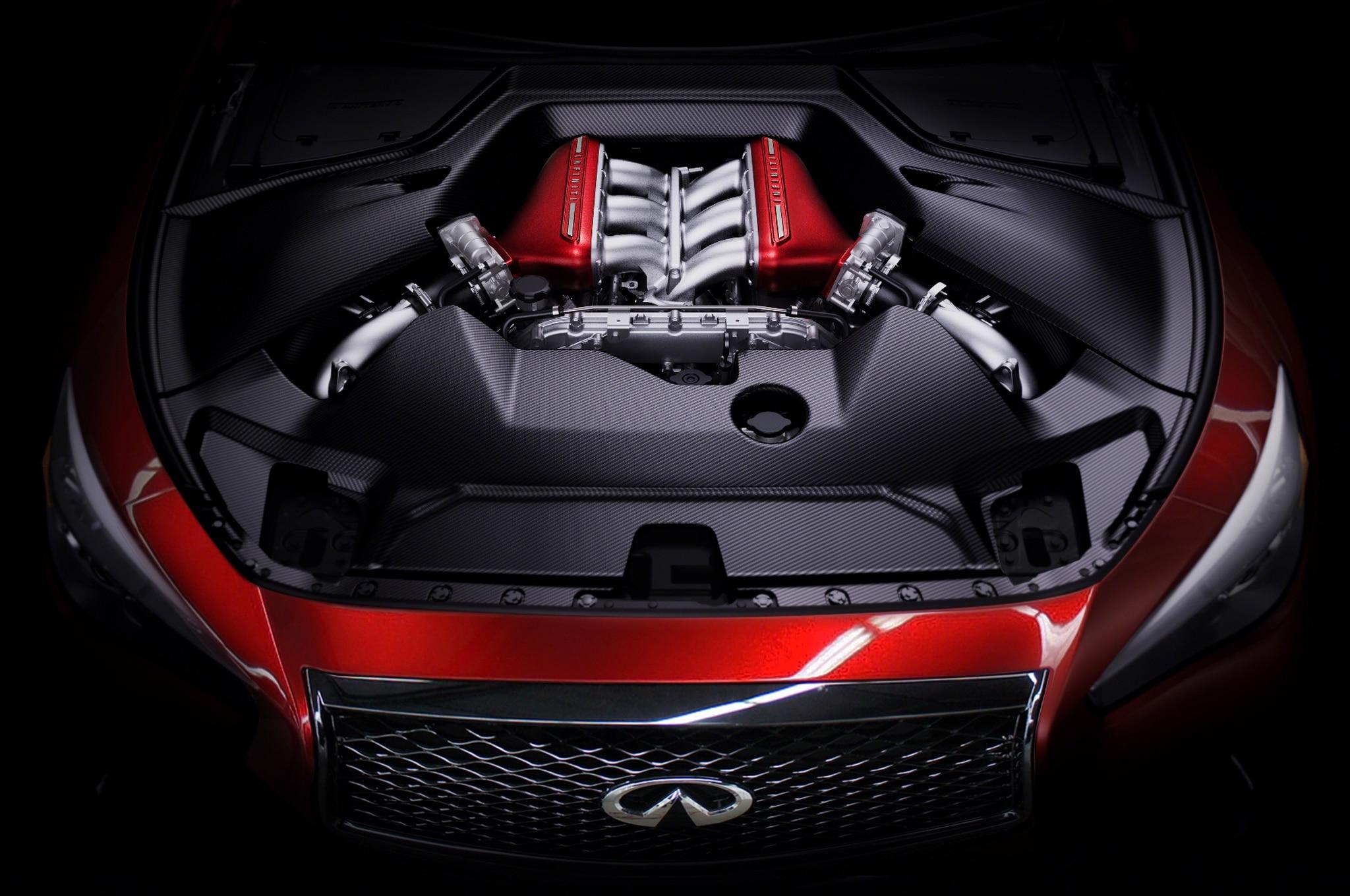 Infiniti Q50 Eau Rouge Concept Engine1