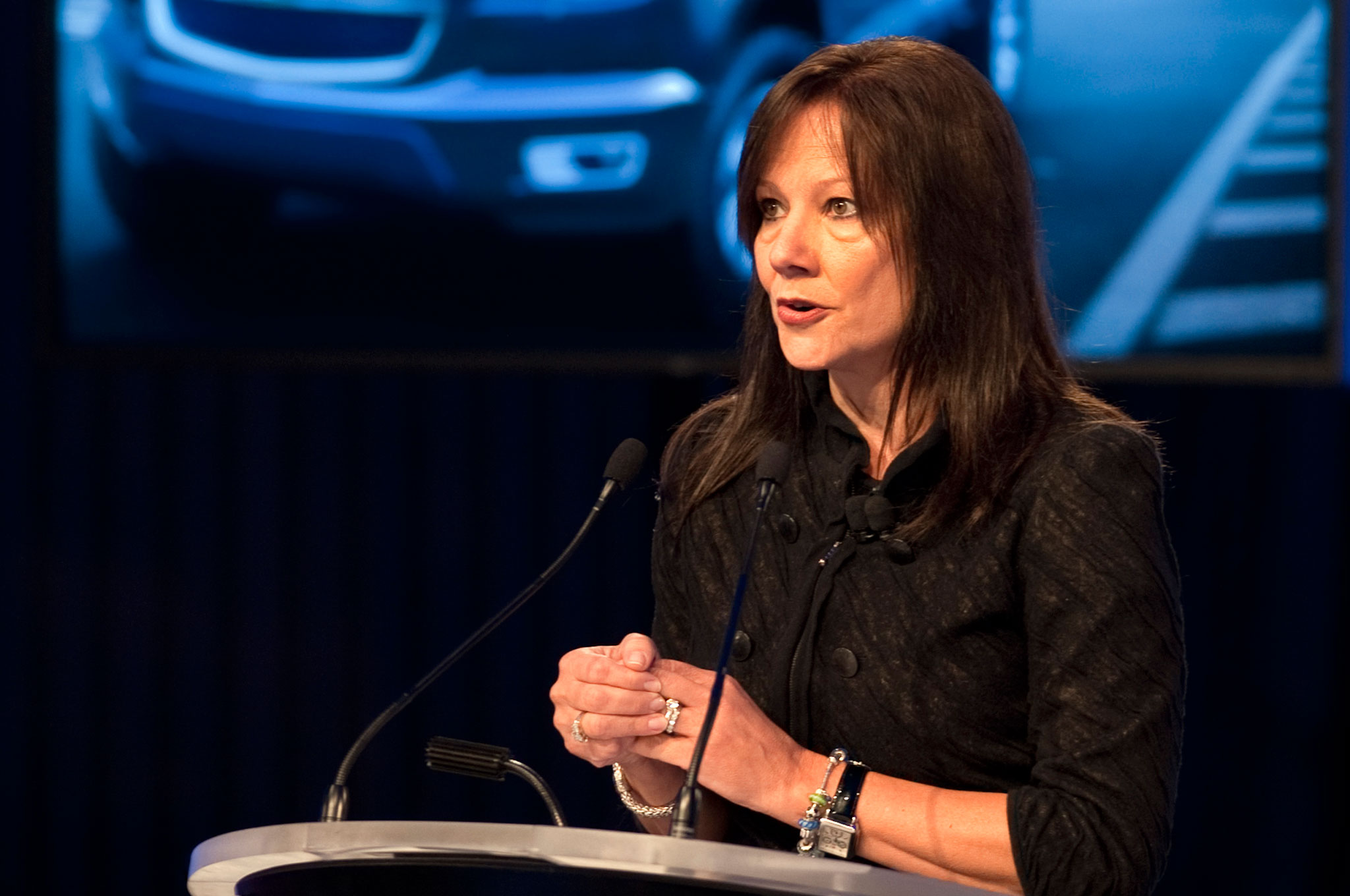 Mary Barra Speaking1