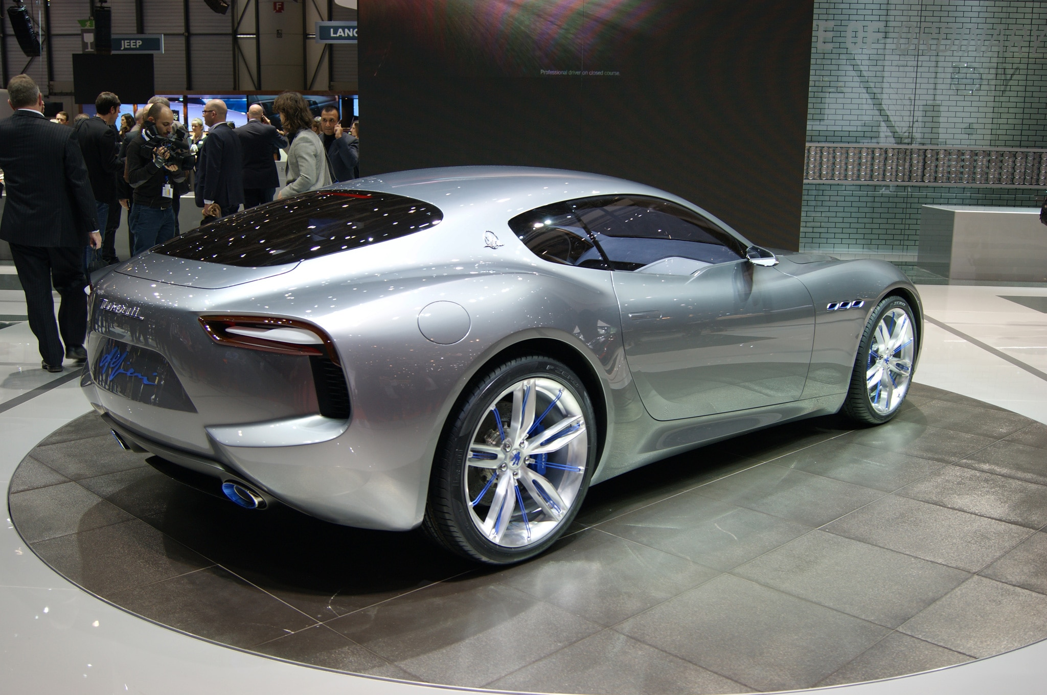 Maserati Alfieri Concept Show Floor Rear Side View2