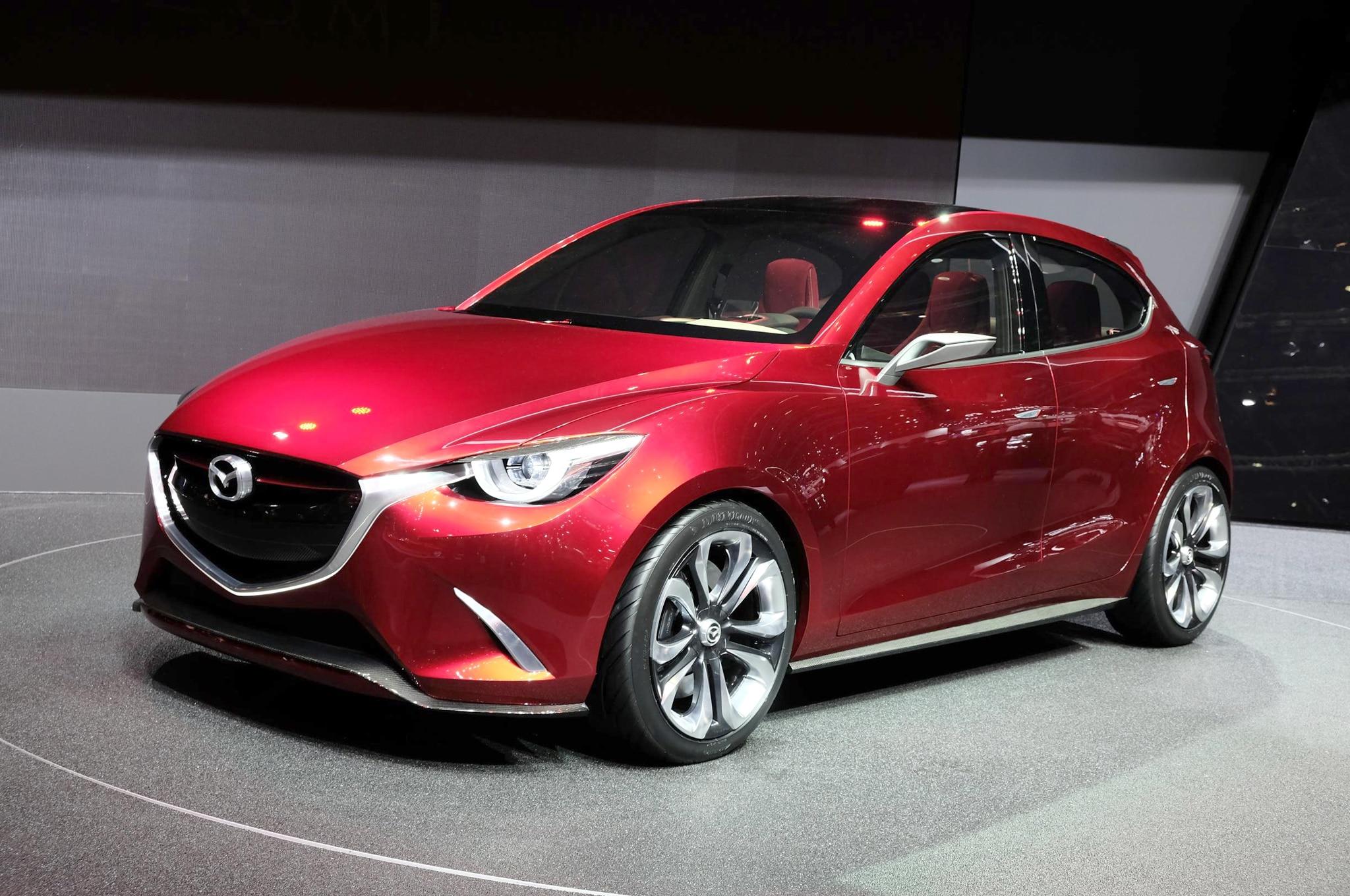 Mazda Hazumi Concept Front Three Quarters2
