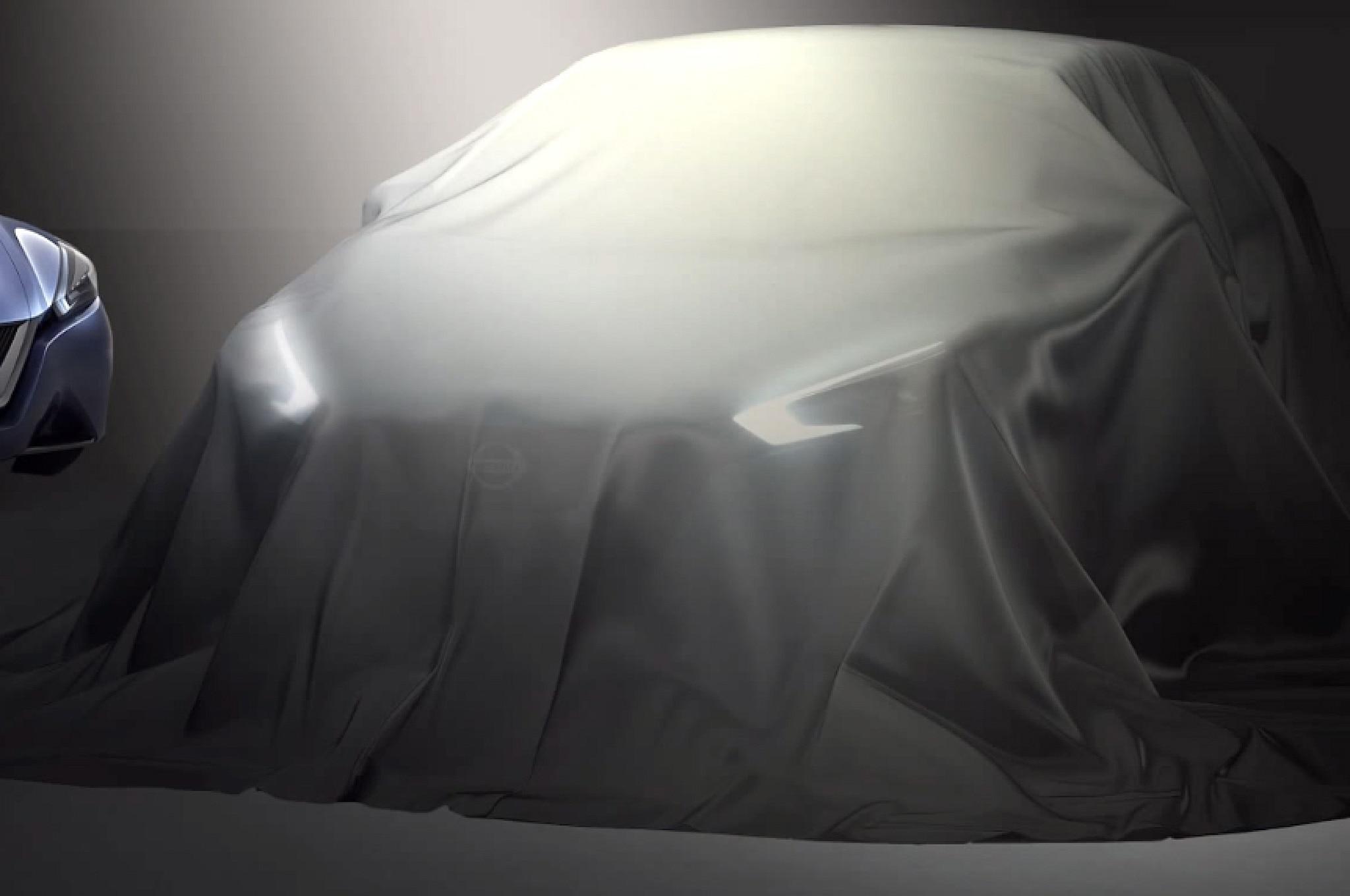 Nissan New Sedan Concept Beijing 2014 Teaser1