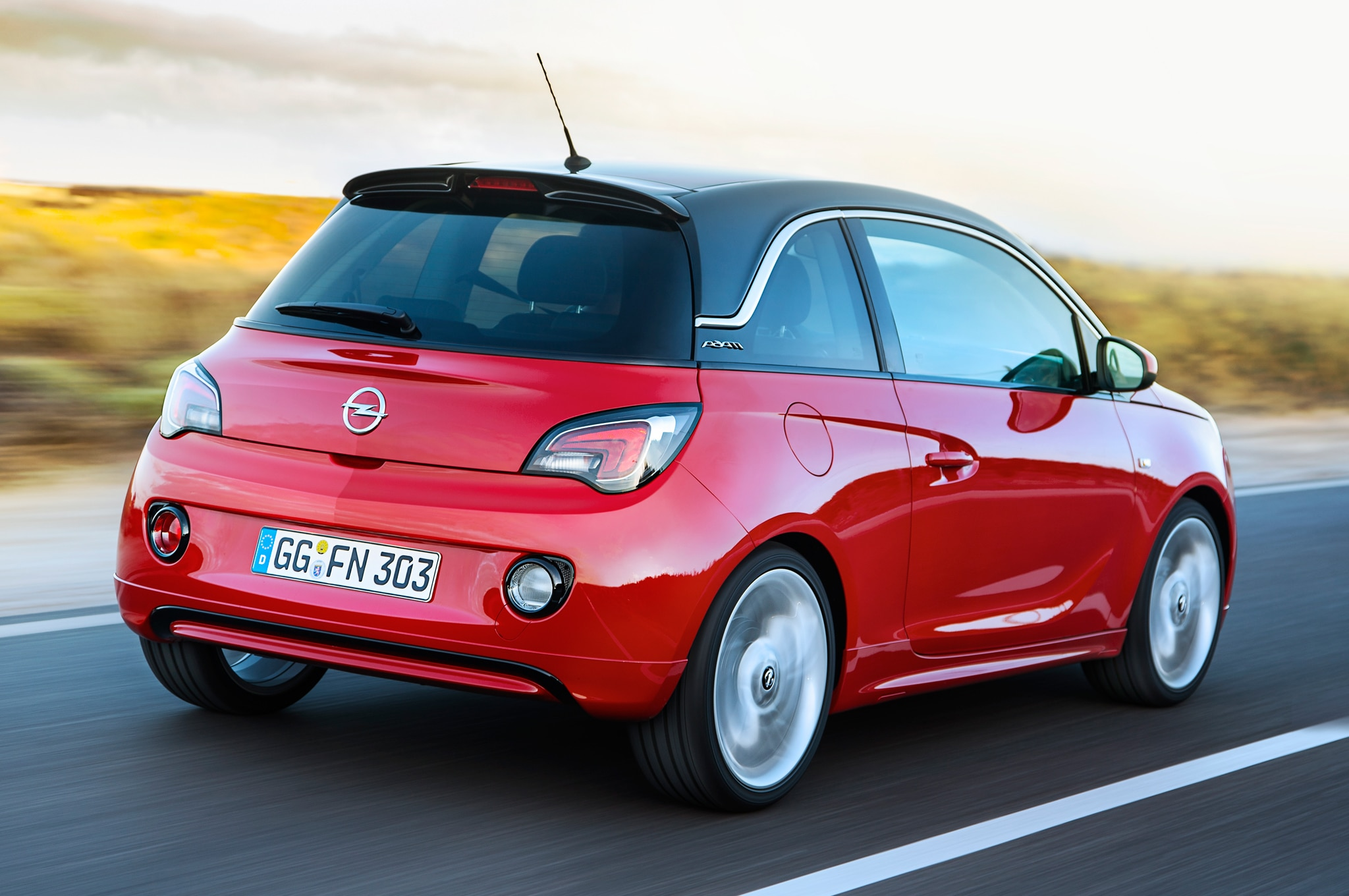 Opel Adam Rear Three Quarter1