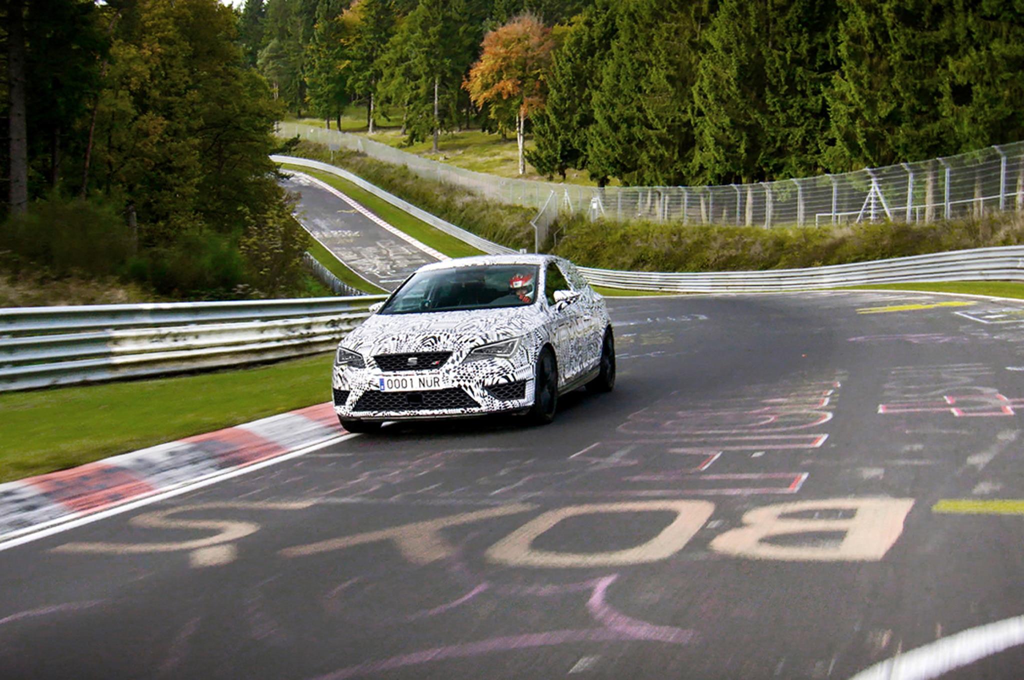 Seat Leon Cupra 280 Prototype Nurburgring Front1