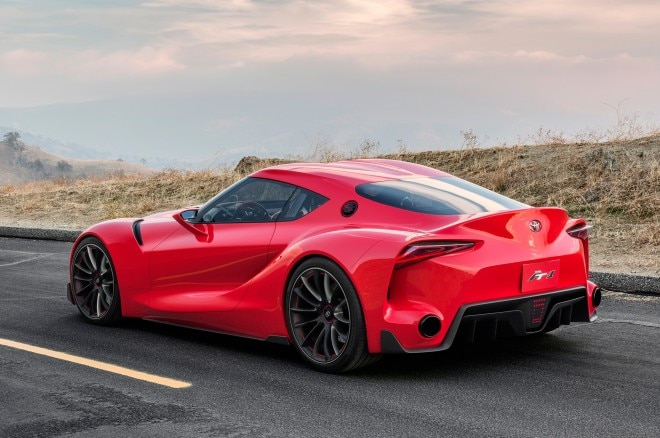 Toyota FT 1 Concept Rear Three Quarters View1 660x438