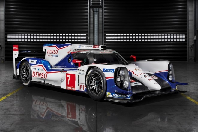 Toyota TS040 Hybrid Race Car Front Side View1 660x438