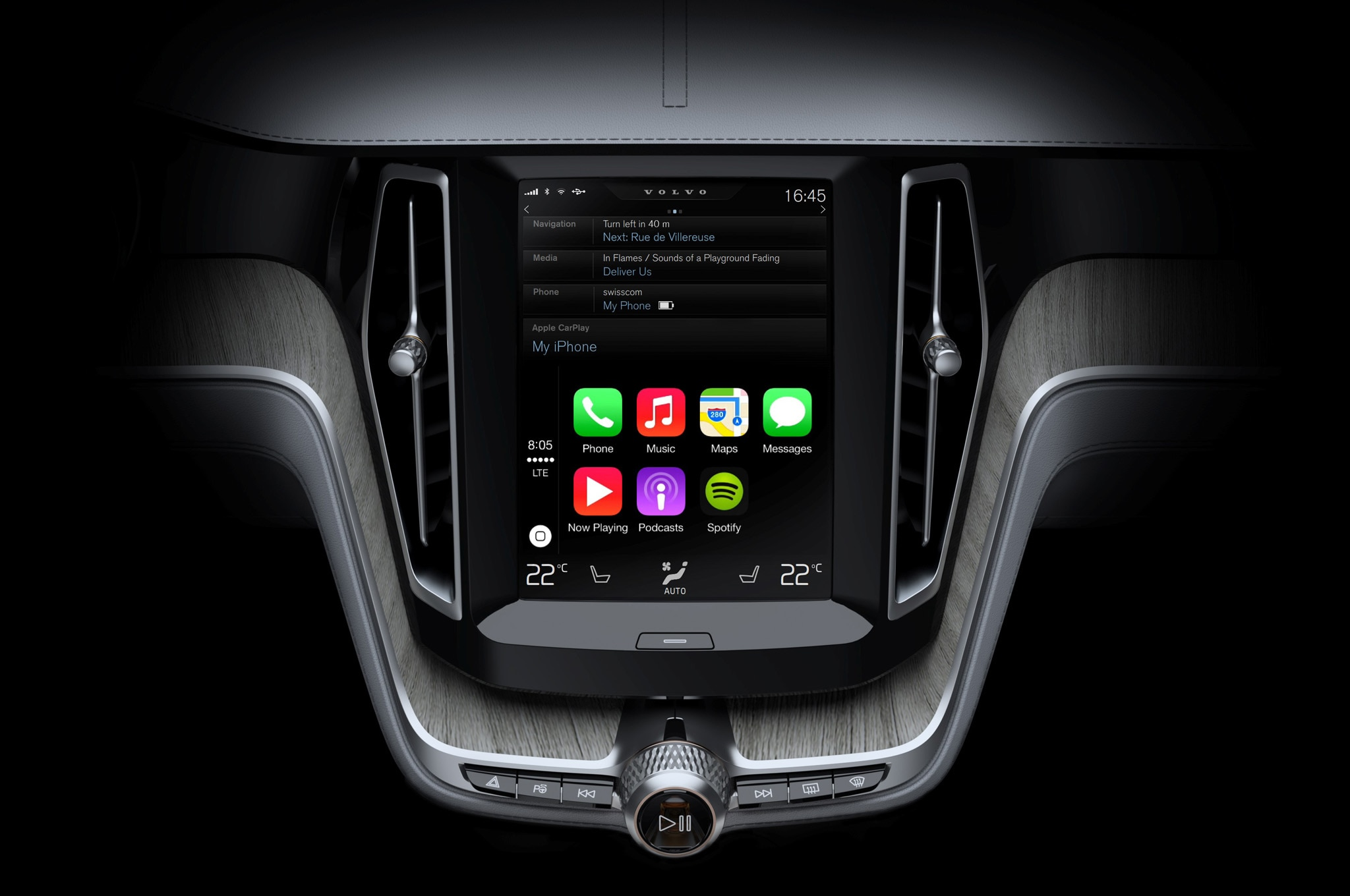 Apple Carplay Volvo 2