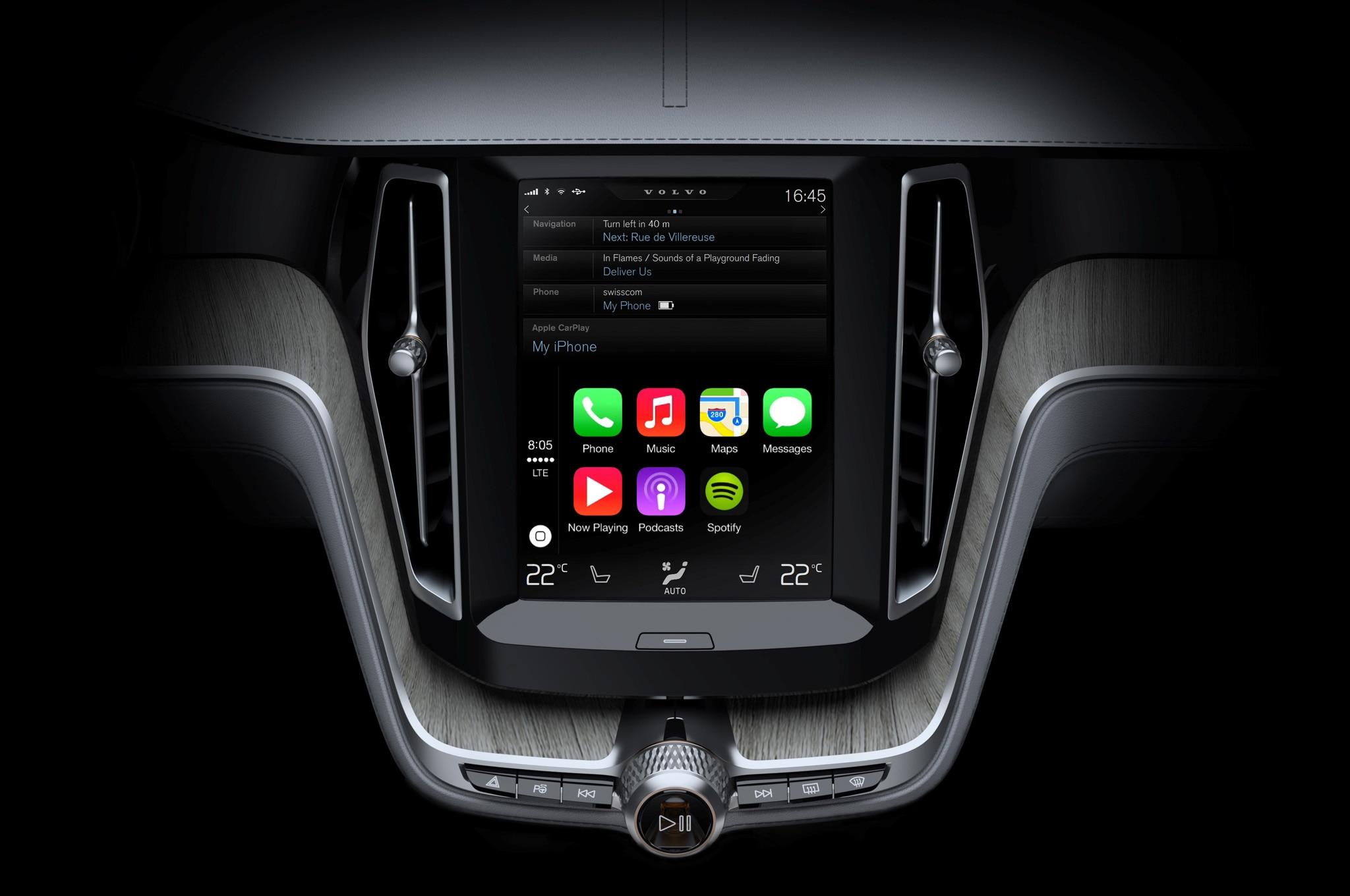 Apple Carplay Volvo 2