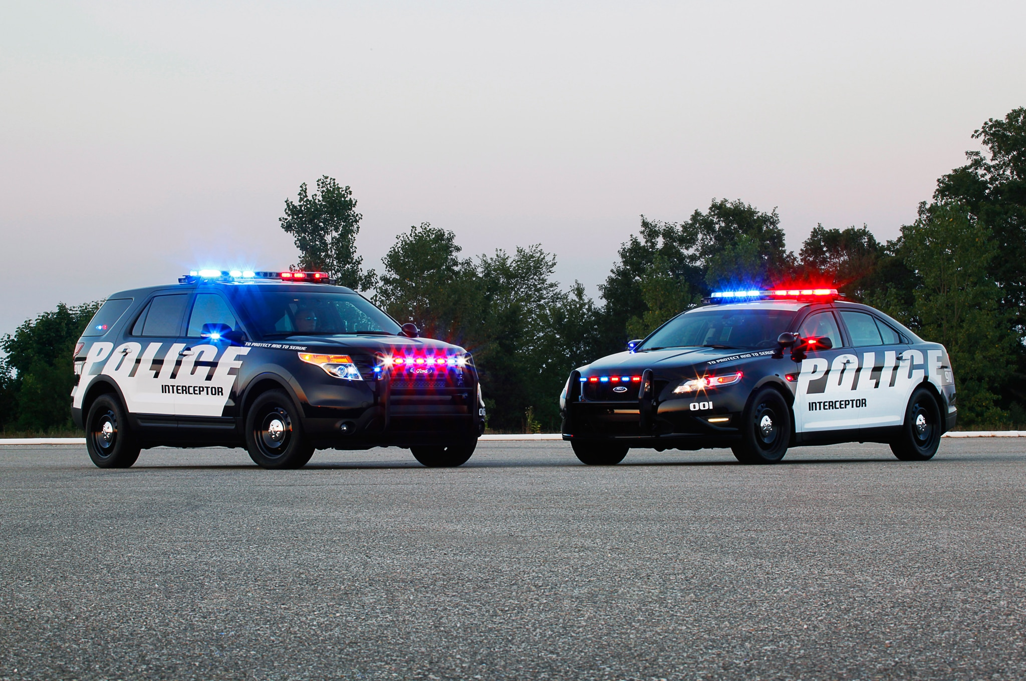 A whopping 90 percent of all Ford Police Interceptor vehicles ... : ford interceptor police car - markmcfarlin.com