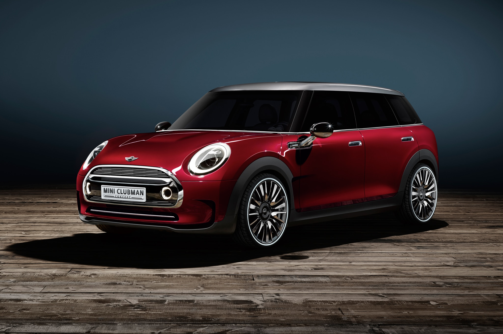 Mini Clubman Concept Front Three Quarter1