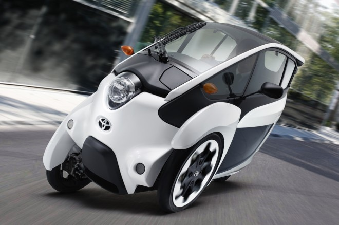 Toyota I Road Front In Motion Consumer Trials1 660x438