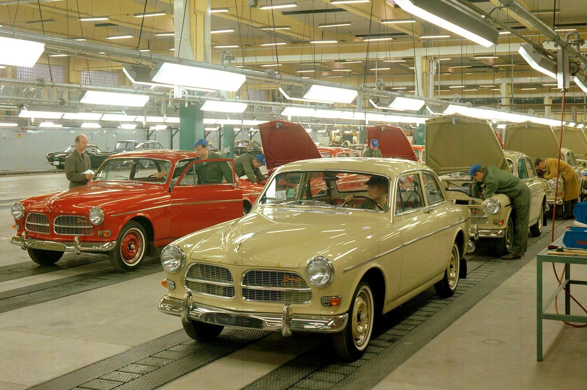 1964 Volvo Amazon Torslanda Production 021