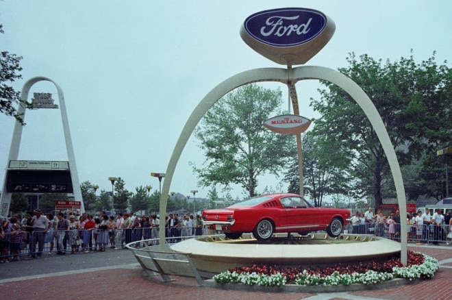 1965 Ford Mustang Fastback At 1964 Worlds Fair1 660x438