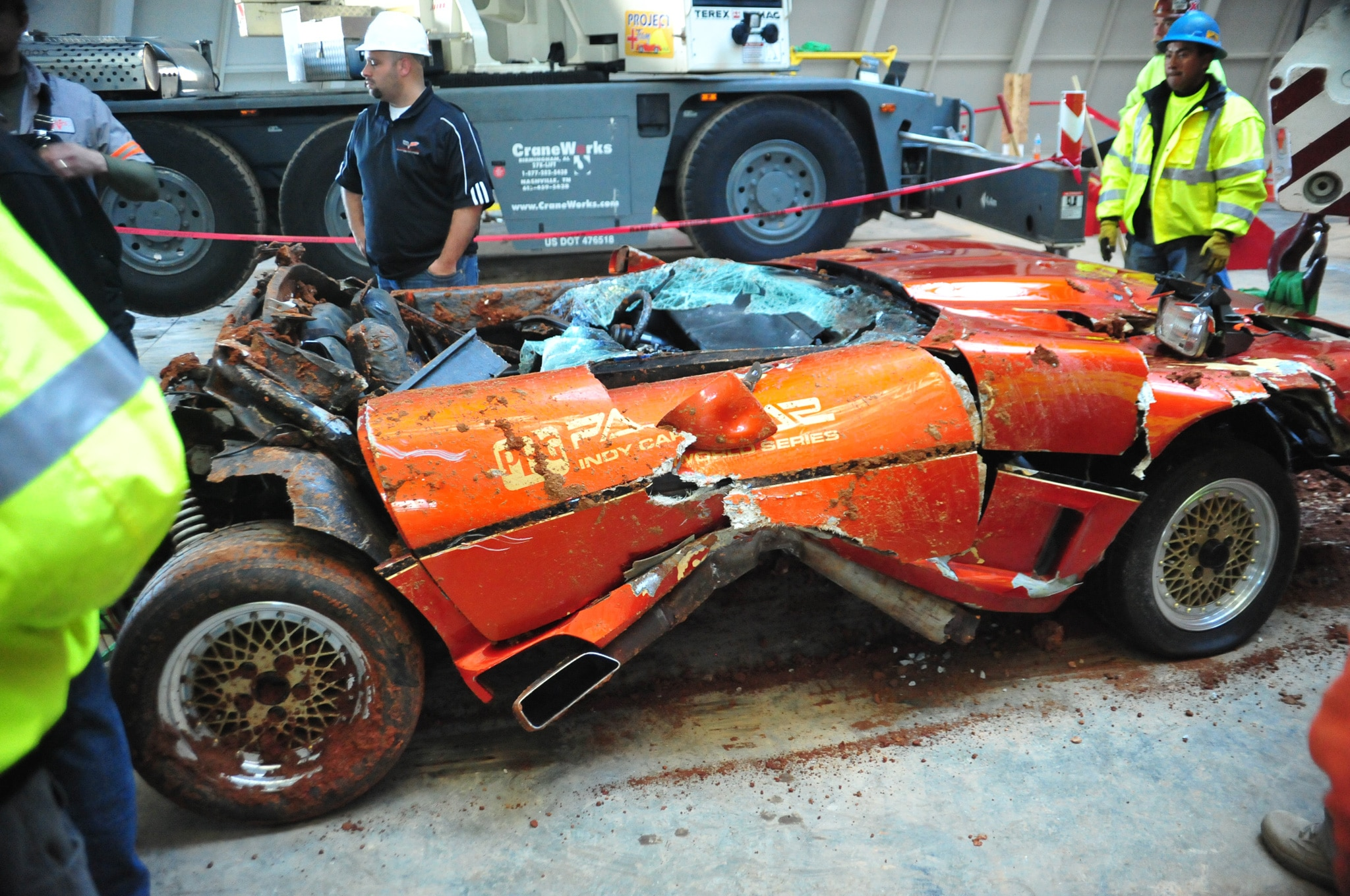 Final Chevrolet Corvette Recovered From Sinkhole